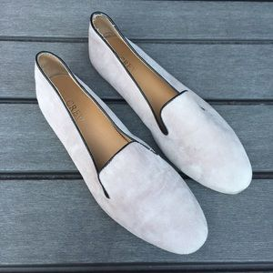 J.CREW Size 8 Cora Suede Flat Shoes